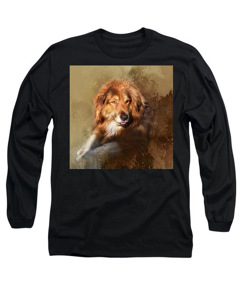 Long Sleeve T-Shirt featuring the photograph Buddy by Theresa Tahara