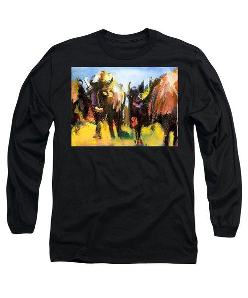 Buffalo Lips Long Sleeve T-Shirt