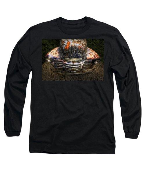 Bug Eyes Long Sleeve T-Shirt by Jerry Golab