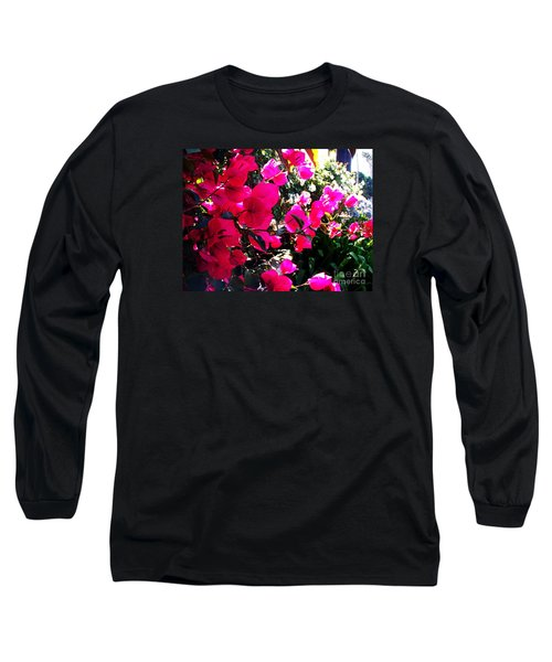 Long Sleeve T-Shirt featuring the photograph Bugambilia by Vanessa Palomino