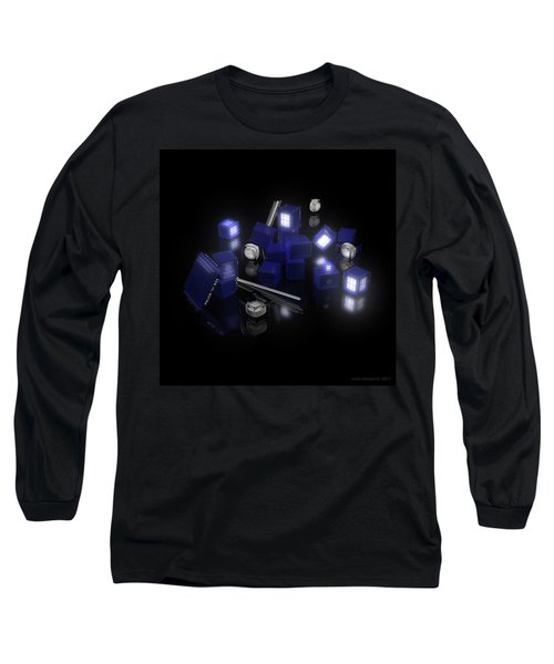 Building Blocks Of Space Time Travel Long Sleeve T-Shirt