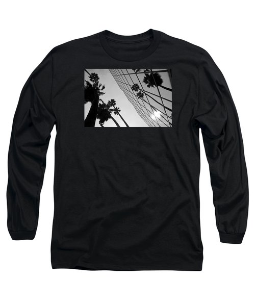Building On Hollywood 3 Long Sleeve T-Shirt by Micah May