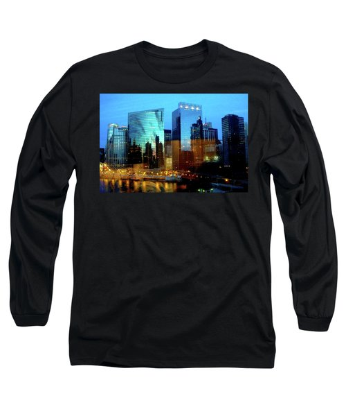 Reflections On The Canal Long Sleeve T-Shirt