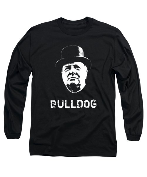 Bulldog - Winston Churchill Long Sleeve T-Shirt