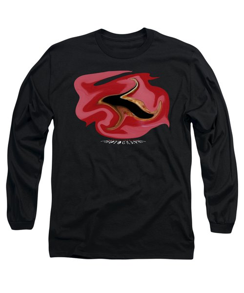 Bullet Kiss Transparency Long Sleeve T-Shirt