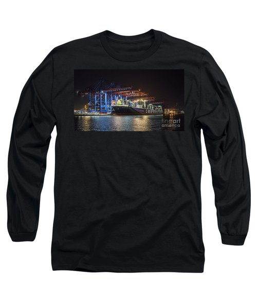 Burchardkai Hamburg Long Sleeve T-Shirt