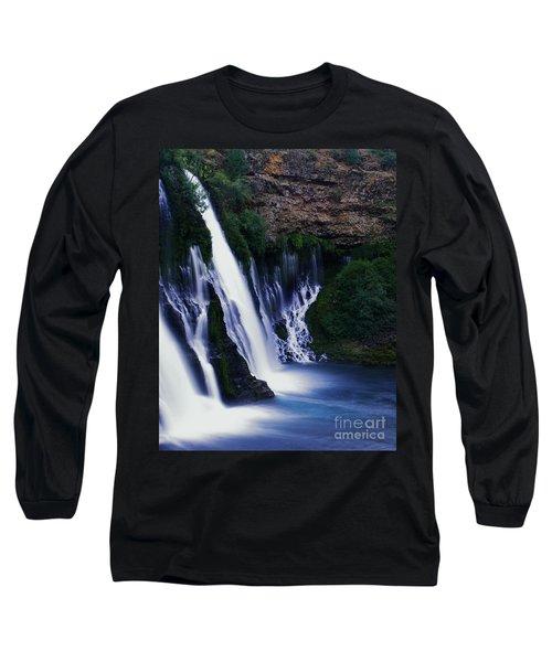 Burney Blues Long Sleeve T-Shirt by Peter Piatt