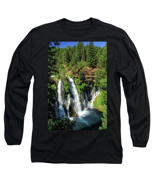 Burney Falls Long Sleeve T-Shirt
