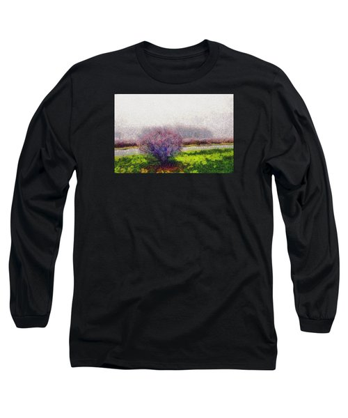 Long Sleeve T-Shirt featuring the photograph Burning Bush by Spyder Webb