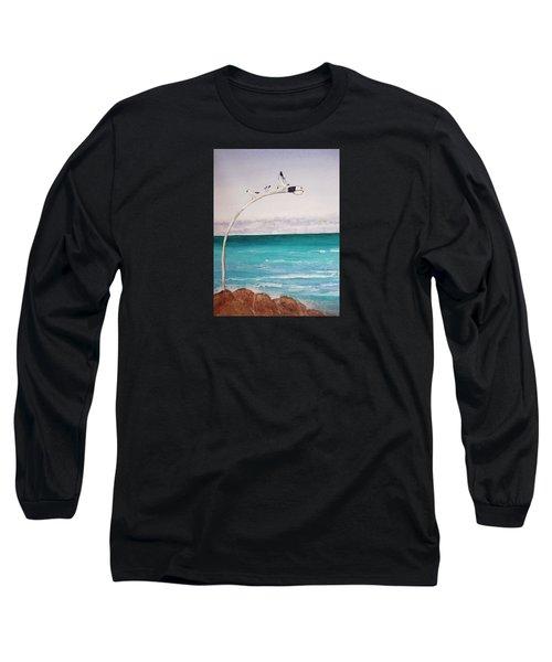 Burns Beach Long Sleeve T-Shirt by Elvira Ingram
