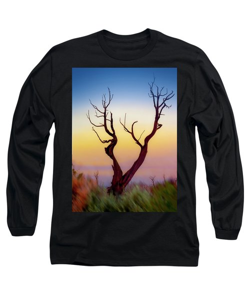 Burnt Cedar At Sunset Long Sleeve T-Shirt