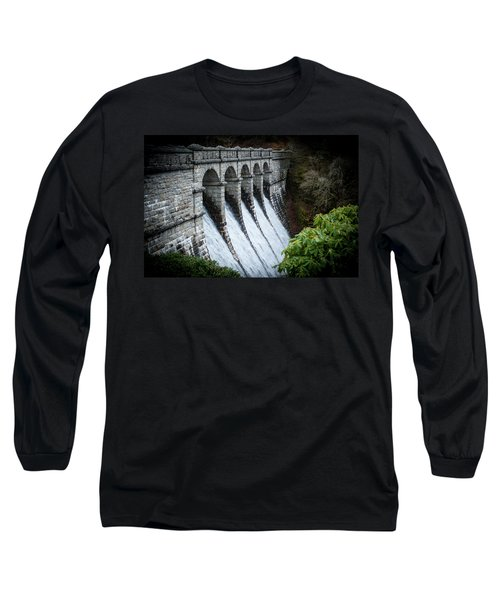 Burrator Reservoir Dam Long Sleeve T-Shirt