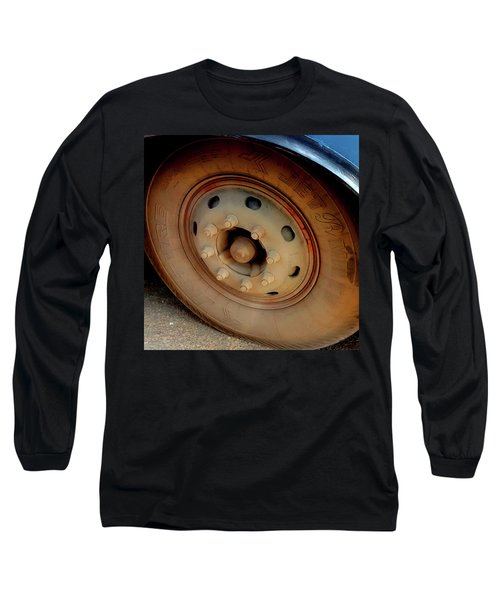 Bus Tyre Long Sleeve T-Shirt