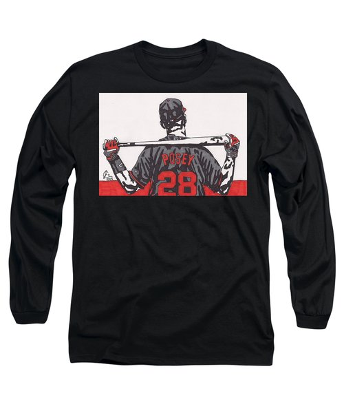 Buster Posey Long Sleeve T-Shirt by Jeremiah Colley