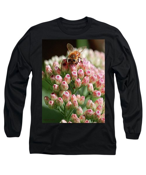 Busy Bee Long Sleeve T-Shirt by DigiArt Diaries by Vicky B Fuller