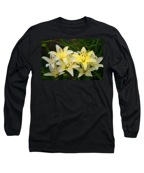 Long Sleeve T-Shirt featuring the photograph Buttercreams by Kathryn Meyer