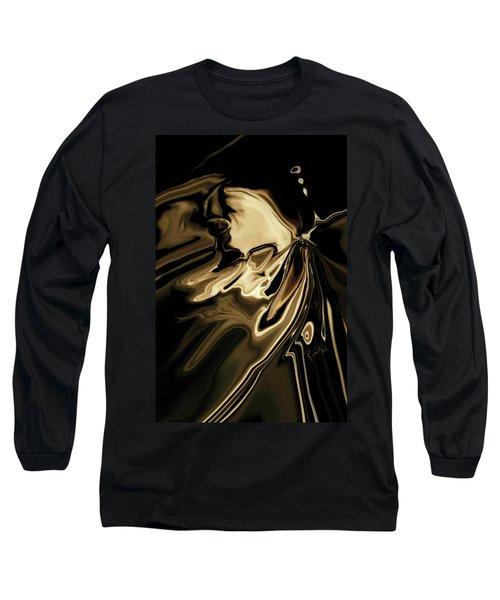 Long Sleeve T-Shirt featuring the digital art Butterfly 2 by Rabi Khan