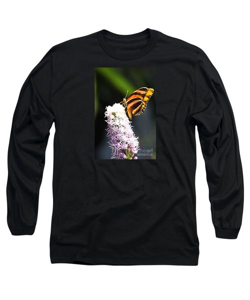 Butterfly 2 Long Sleeve T-Shirt by Tom Prendergast