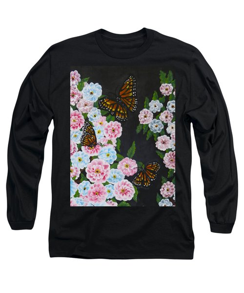 Butterfly Beauty Long Sleeve T-Shirt by Teresa Wing
