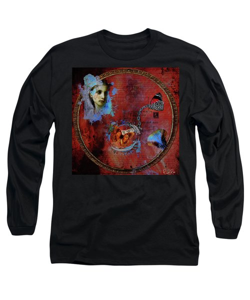 Butterfly Circle Of Love Long Sleeve T-Shirt