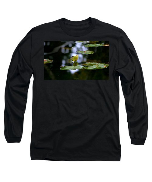 Butterfly Lily Pad Long Sleeve T-Shirt