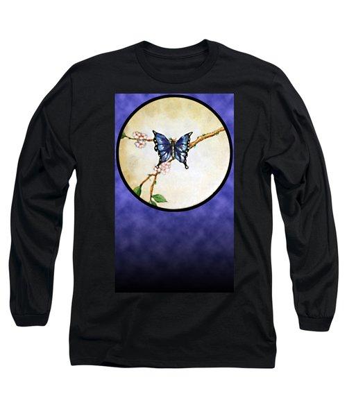 Butterfly Moon Long Sleeve T-Shirt
