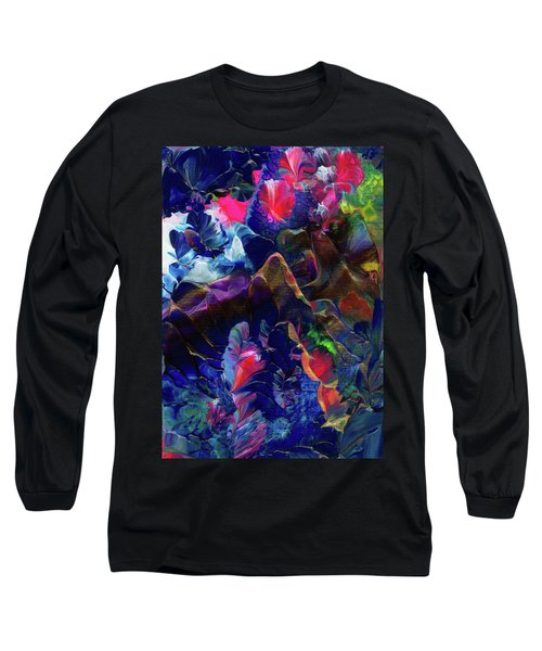 Butterfly Mountain Long Sleeve T-Shirt