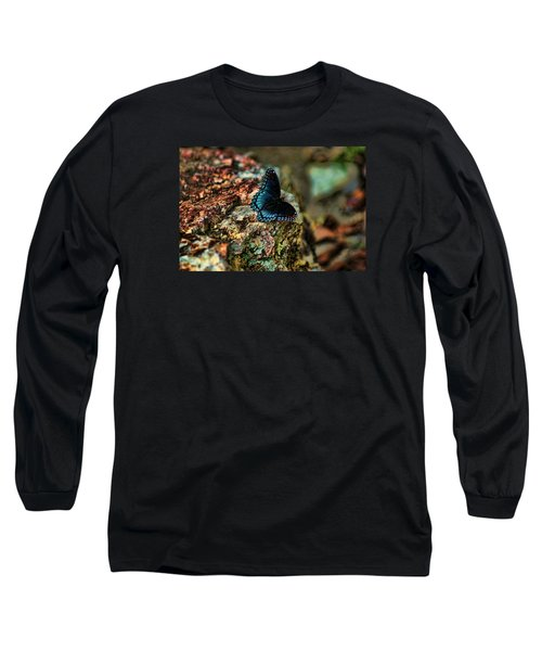 Long Sleeve T-Shirt featuring the photograph Butterfly Rock by Rick Friedle