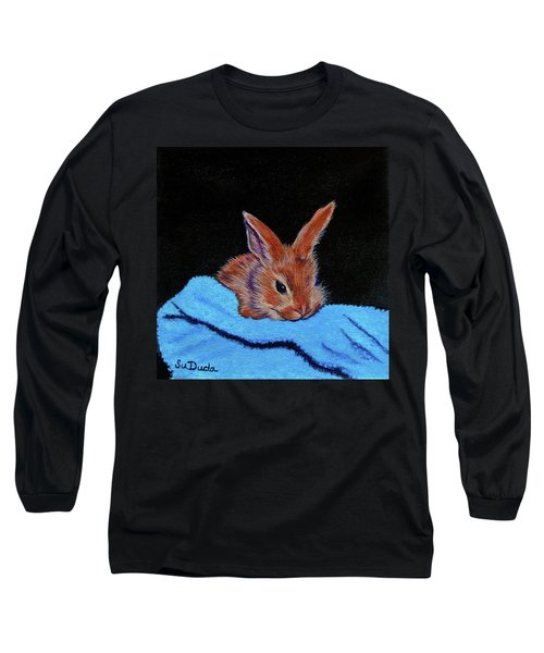 Butterscotch Bunny Long Sleeve T-Shirt by Susan Duda
