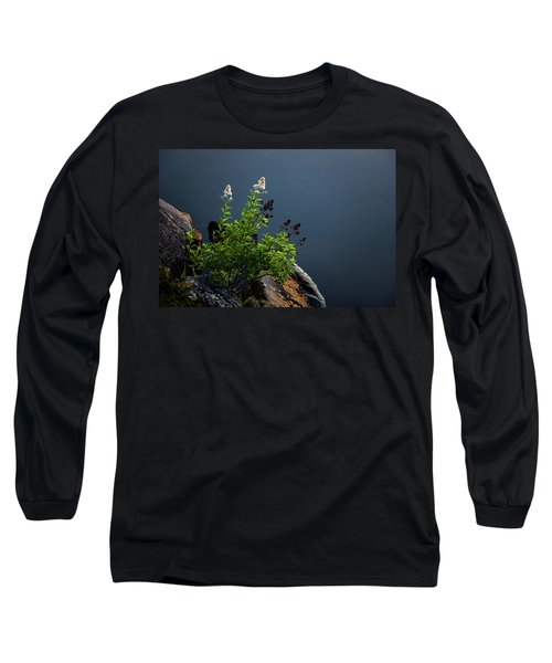 By The Edge Long Sleeve T-Shirt by Peter Scott