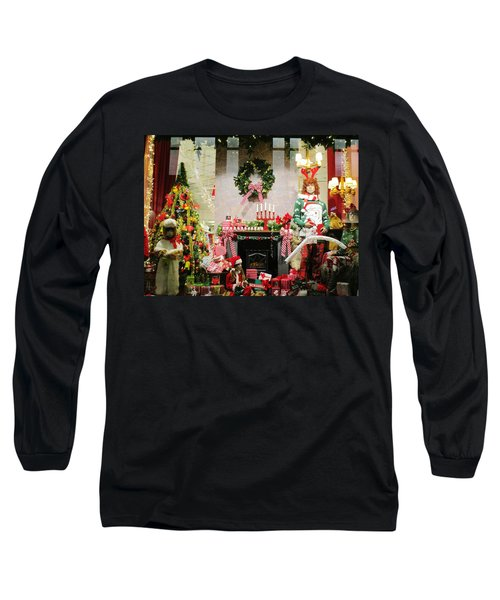 By The Fireplace Long Sleeve T-Shirt