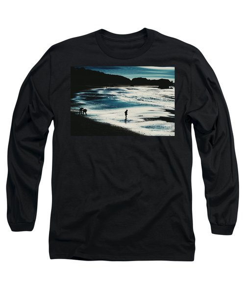 By The Light Of The Silvery Moon Long Sleeve T-Shirt