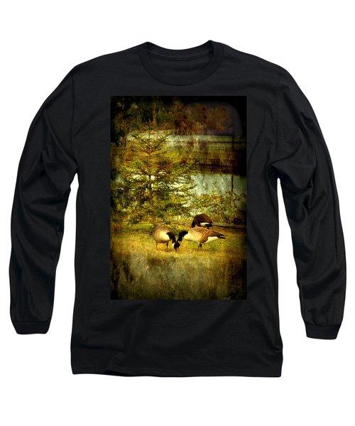 By The Little Tree - Lake Carasaljo Long Sleeve T-Shirt
