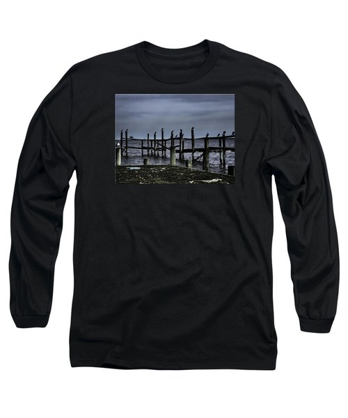 By The Sea Long Sleeve T-Shirt by Mikki Cucuzzo