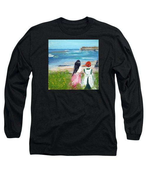 By The Shores By Colleen Ranney Long Sleeve T-Shirt