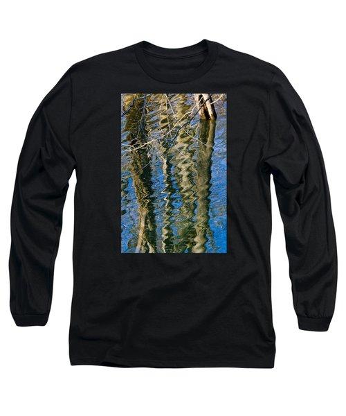 C And O Abstract Long Sleeve T-Shirt