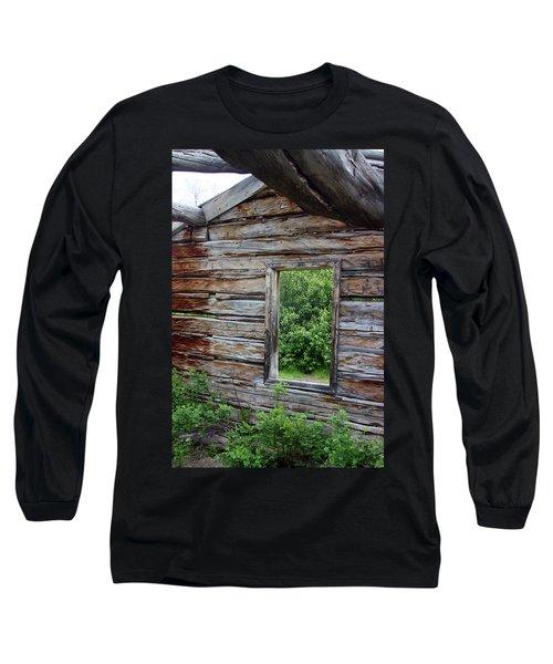Cabin Window Long Sleeve T-Shirt