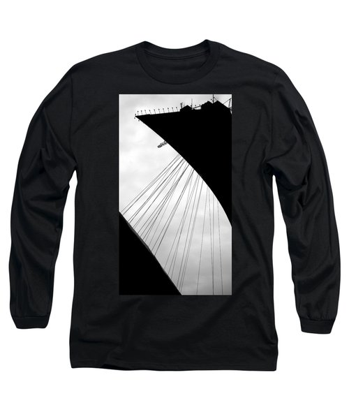 Long Sleeve T-Shirt featuring the photograph Cables And Funes by Valentino Visentini