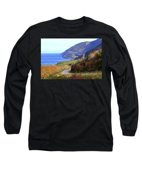 Cabot Trail, Cape Breton, Nova Scotia Long Sleeve T-Shirt