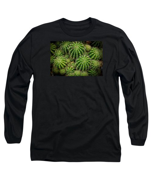 Long Sleeve T-Shirt featuring the photograph Cacti by Keith Hawley
