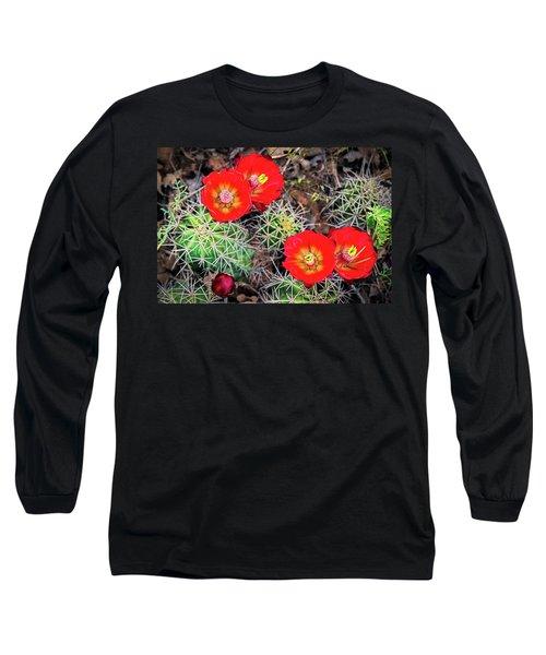 Cactus Bloom Long Sleeve T-Shirt