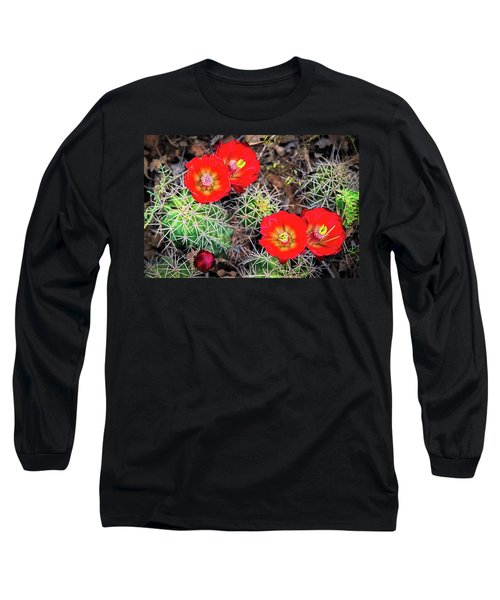 Cactus Bloom Long Sleeve T-Shirt