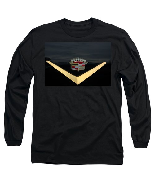 Cadillac Hood Emblem Long Sleeve T-Shirt