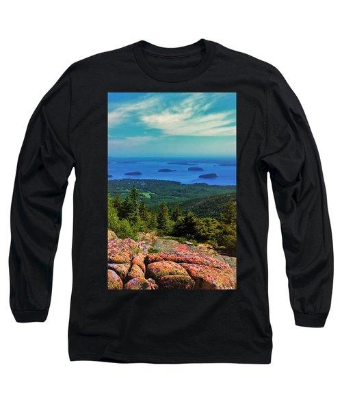 Cadillac Mountain Long Sleeve T-Shirt