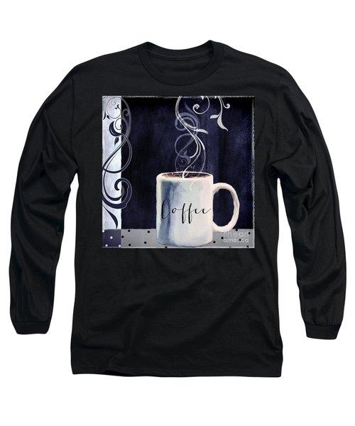 Cafe Blue I Long Sleeve T-Shirt