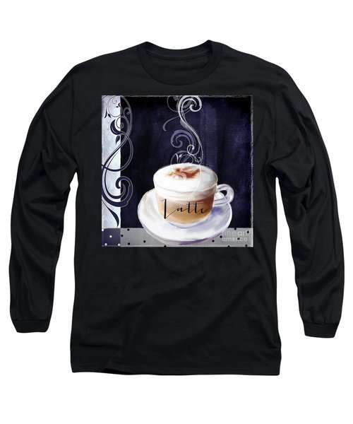Cafe Blue II Long Sleeve T-Shirt