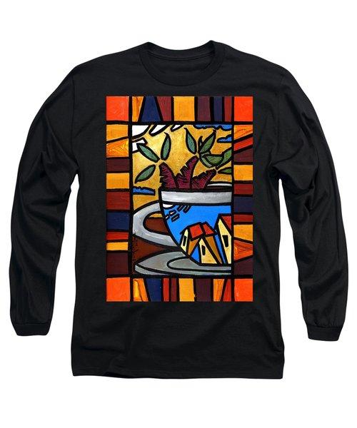 Cafe Caribe  Long Sleeve T-Shirt
