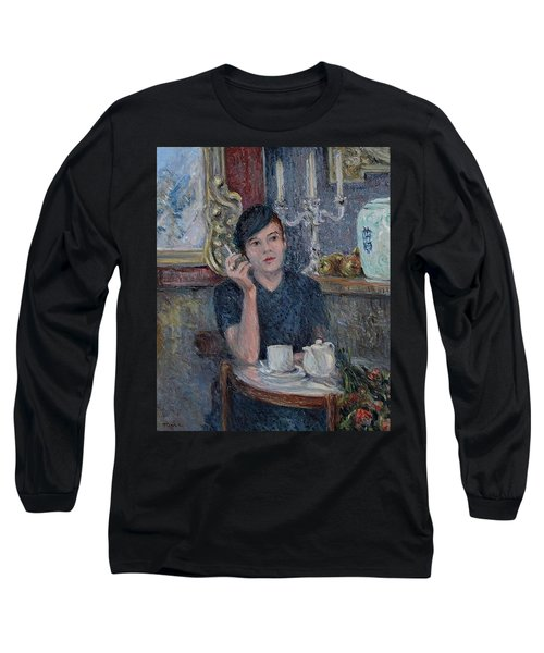Cafe De Paris  Long Sleeve T-Shirt