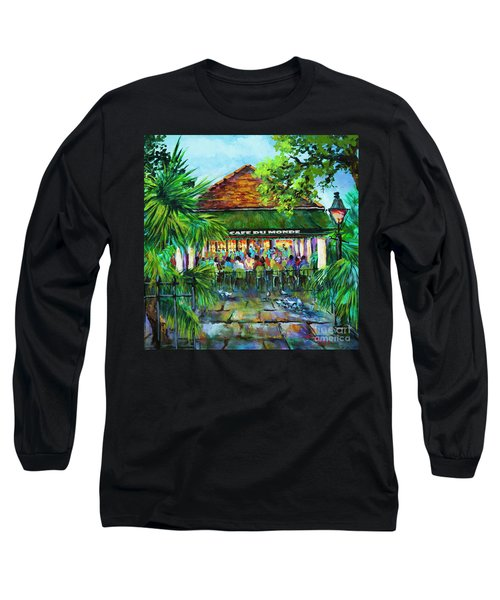 Cafe Du Monde Morning Long Sleeve T-Shirt