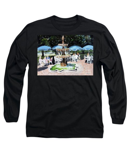 Cafe Gallery Long Sleeve T-Shirt